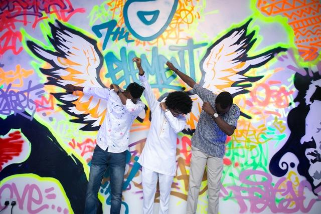 Graffiti Exhibition Guinness Africa