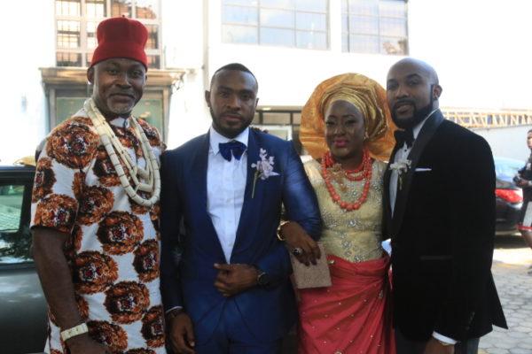 The Wedding Party Behind Scenes EbonyLife Films BellaNaija 4