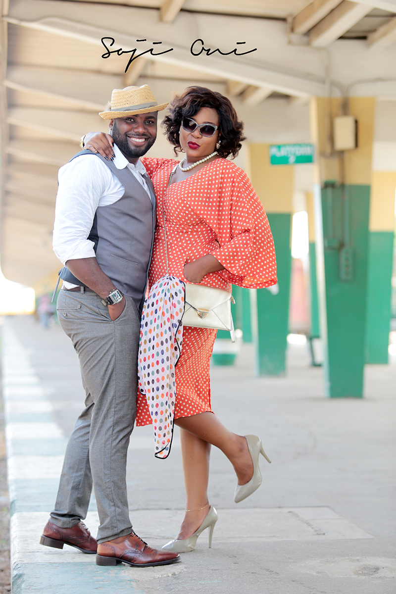 Train Station Pre Wedding Shoot in Lagos 1