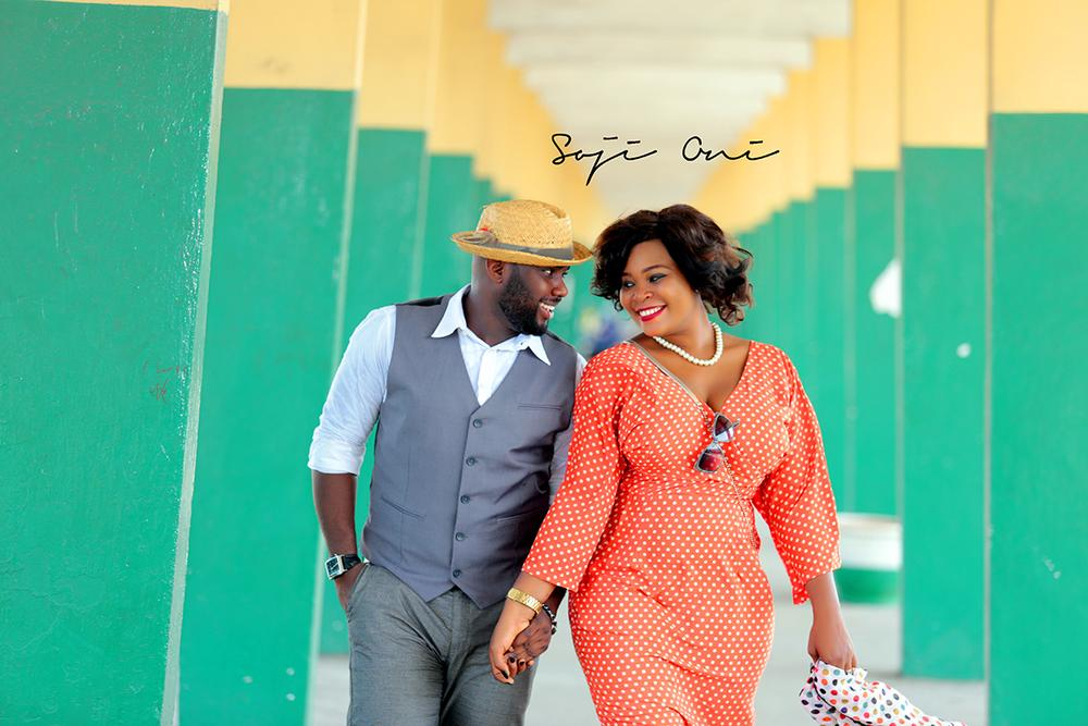 Train Station Pre Wedding Shoot in Lagos 3