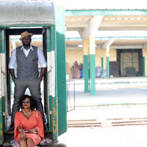 Train Station Pre Wedding Shoot in Lagos 4