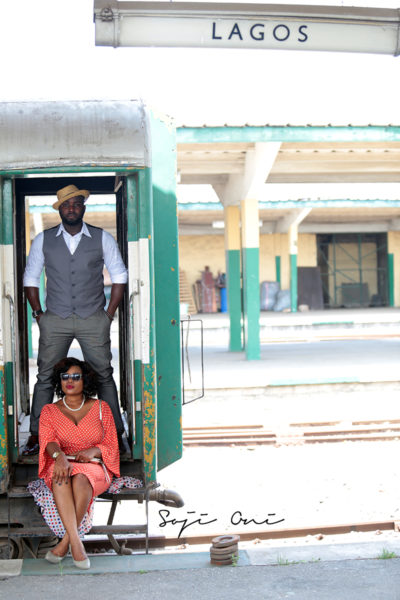 Train Station Pre Wedding Shoot in Lagos 4