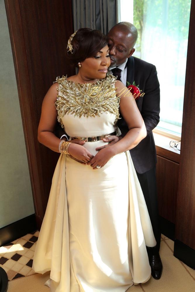 Vivian Chiologi & John Shittu_Dorchester Hotel London Wedding_Nigerian_Banke Meshida-Lawal of BM Pro_Kiss