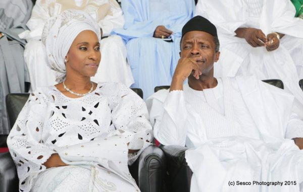 Yemi and Dolapo Osinbajo