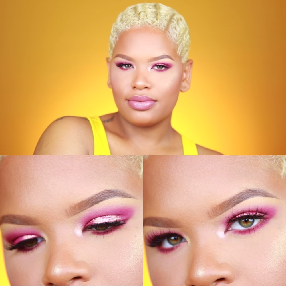 Bn Beauty Get This Pretty Pink Makeup