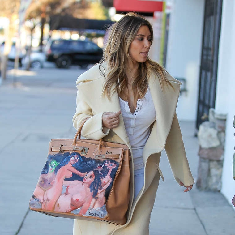 custom hermes birkin bags bellanaija may2016Kim-Kardashian-new-handpainted-Birkin-bag--22_
