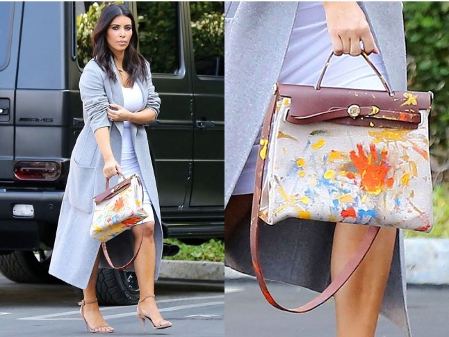 custom hermes birkin bags bellanaija may2016Kim-Kardashian-personalised-Hermes_