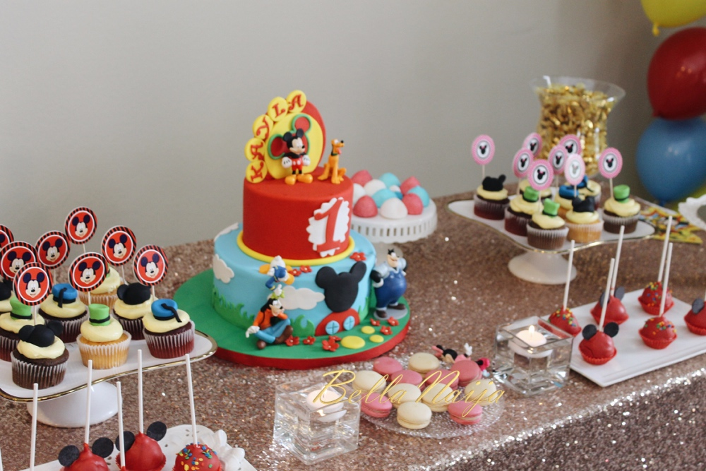BN Living Presents Kaylas Mickey Mouse Club House 1st Birthday