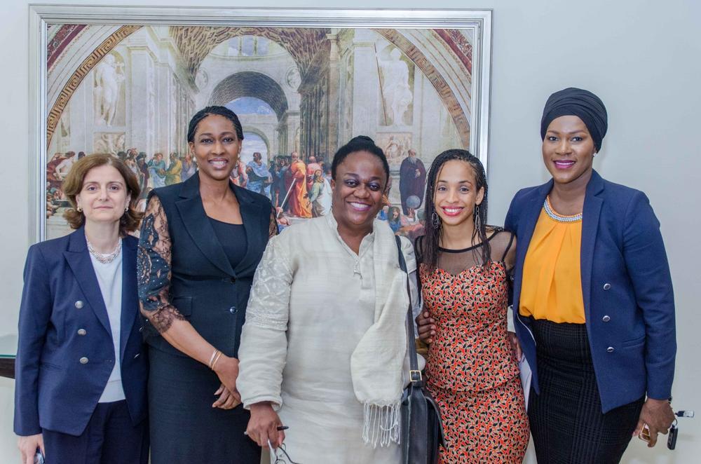 Suzy Antounian, Onari Duke, Prof. Leslye Obiora, Ndidi Nwuneli and Stephanie Okereke Linus