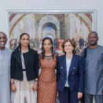 Hakeem Belo-Osagie, Gloria Atta, Ndidi Nwuneli, Suzy Antounian and Sunday Udo
