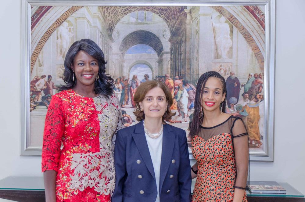 Catherine Bickersteth, Suzy Antounian, Ndidi Nwuneli
