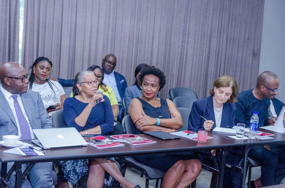 Dr. Owens Wiwa, Sally Udoma and other attendees