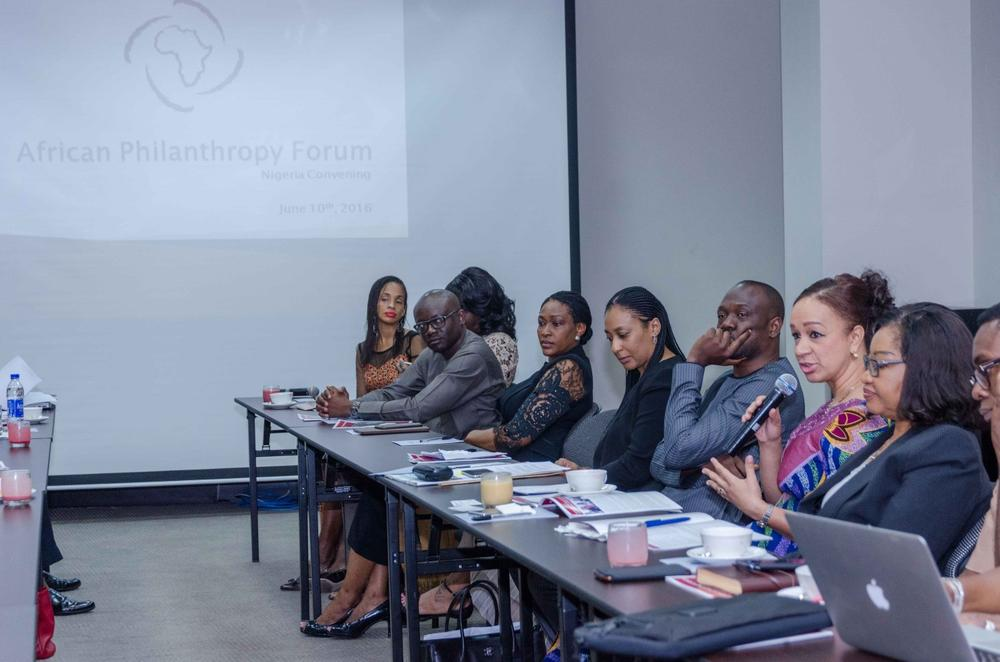Nike Desouza, Ije Jidenma and a cross section of philanthropists