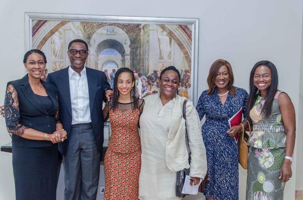 Onari Duke, Dr. Tony Rapu, Ndidi Nwuneli, Prof. Leslye Obiora, Nimi Akinkugbe and Aisha Oyebode