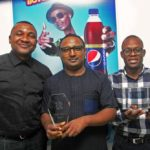 From left - Jones Bassey, Account Director Insight Communications, Norden Thurston Head of Marketing, Seven Up Bottling Company Plc and Segun Ogunleye Brand Manager Seven Up Bottling Company Plc