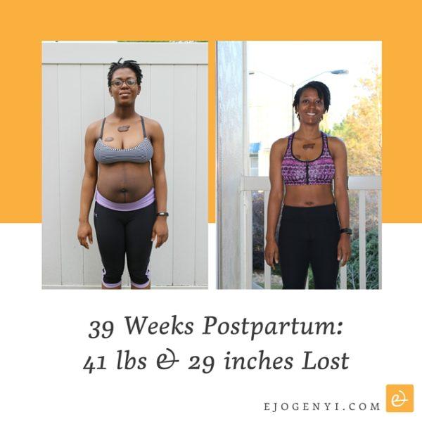 39 Weeks Post Partum