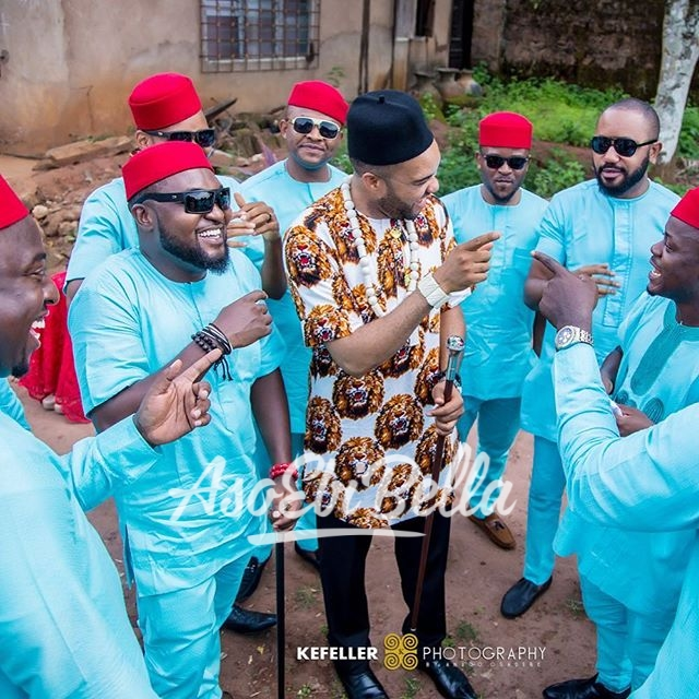 @Mr._sise & his squad Photography by @kefellerworks_aso ebi, asoebi, asoebibella