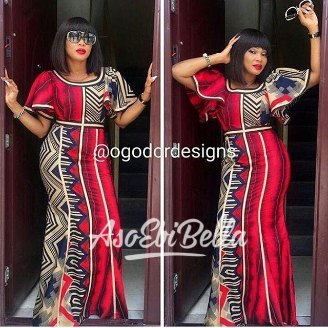 @ifyogodor Dress by @ogodordesigns