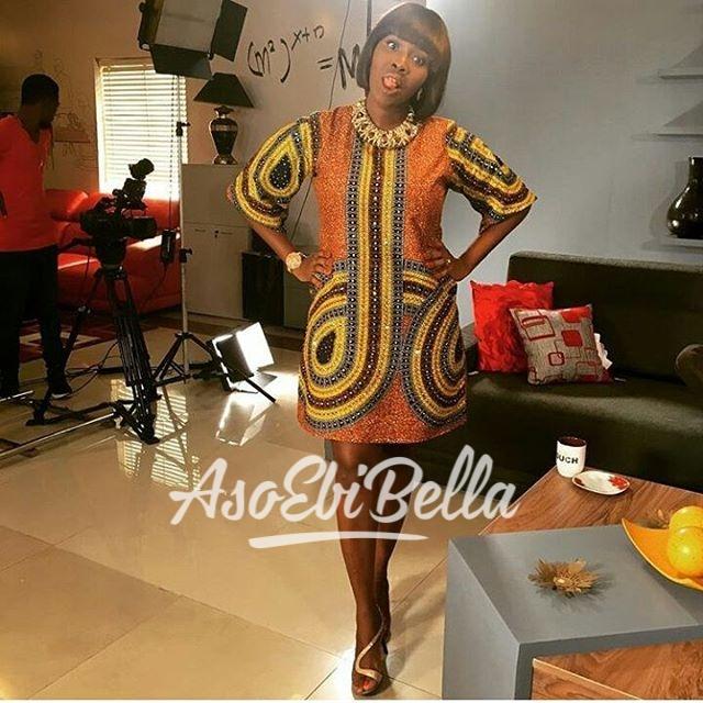 @ladyariyike in @ankarafreak MUA @cohenstouch_aso ebi, asoebi, asoebibella