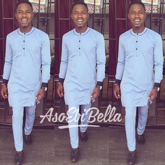@mr_uzz in @jeffurbanclothing_aso ebi, asoebi, asoebibella