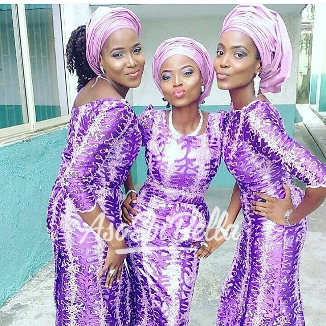 @omoge_k_lush and sisters_aso ebi, asoebi, asoebibella