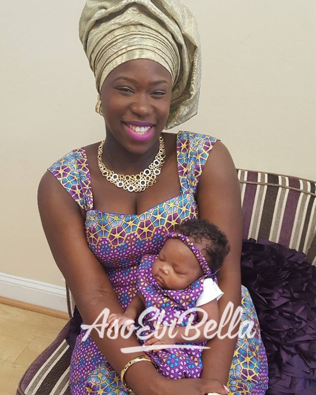 @sweetyinka and her adorable baby