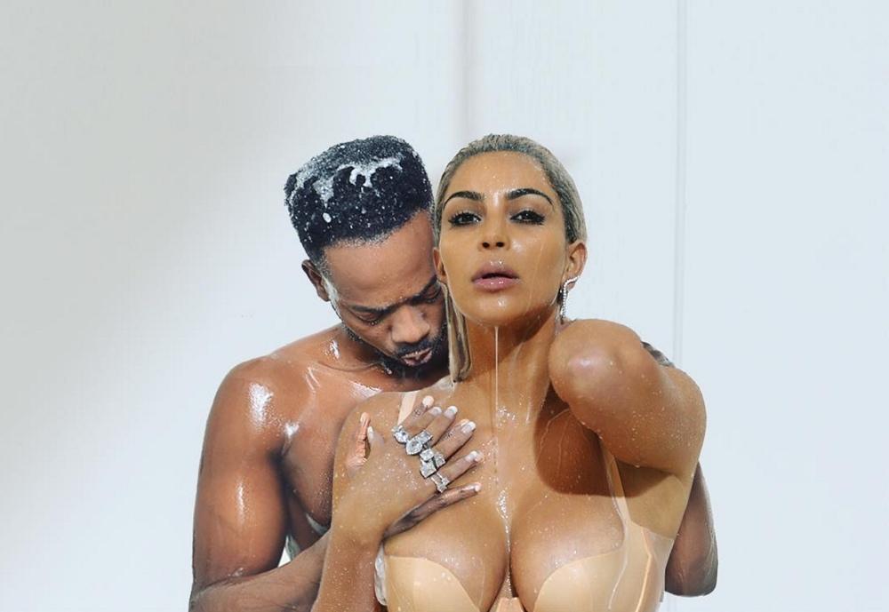 Adekunle Gold, Kim Kardashian West