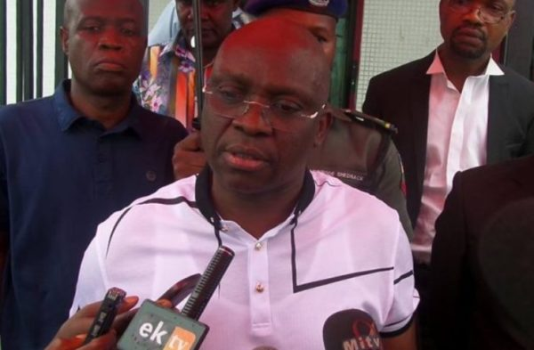 """I have a penchant for taking powers; I'm the next president"" - Fayose"