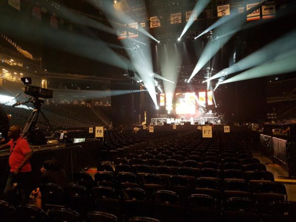 Barclay's Center All set up