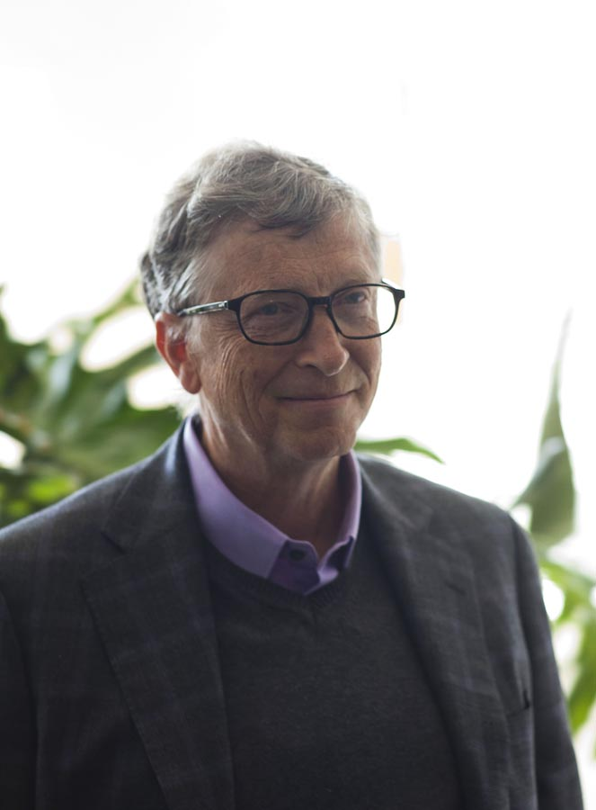 Watch Bill Gates speak Pidgin English - BellaNaija