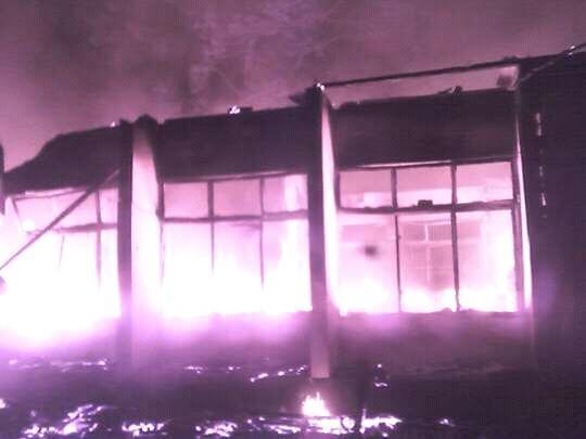 Bori INEC Office Fire