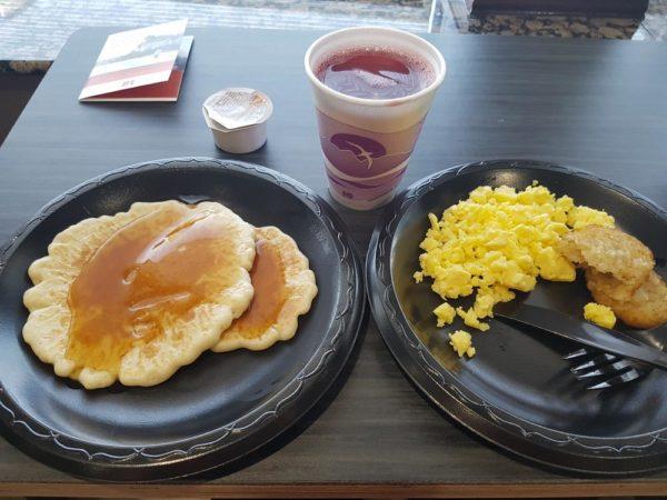 Breakfast on Sunday Morning