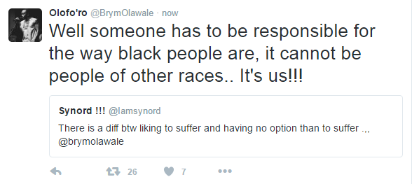 Brymo's Tweet2