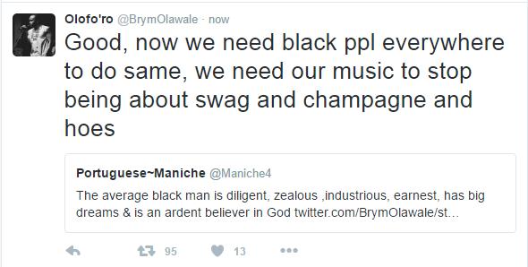 Brymo's Tweet6