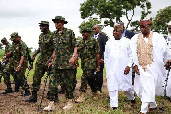 Buhari on Military Uniform6