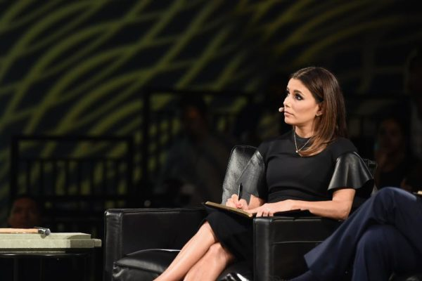 'The Venture' Judge - Eva Longoria during the pitch sessions