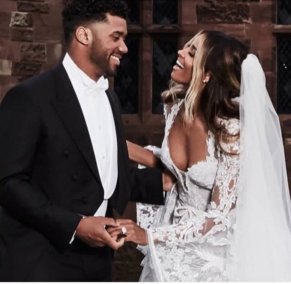 See More Photos From Ciara And Russell Wilsons Beautiful Castle Wedding