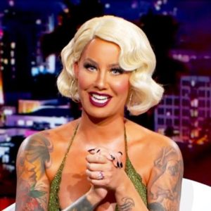 Amber Rose on the AMber Rose Show