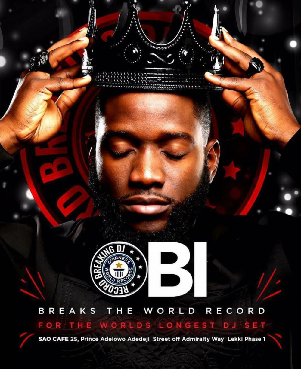 DJ OBI DID IT! He Beat the World Record for Longest DJ Set #DJObiWorldRecord