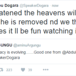 Dogara Tweets