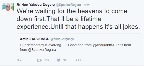 Dogara Tweets2