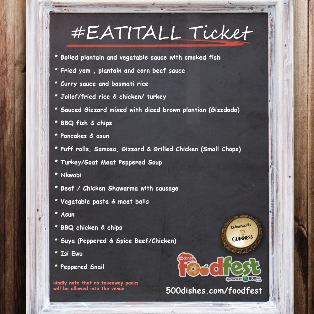 #EatItAll-Menu