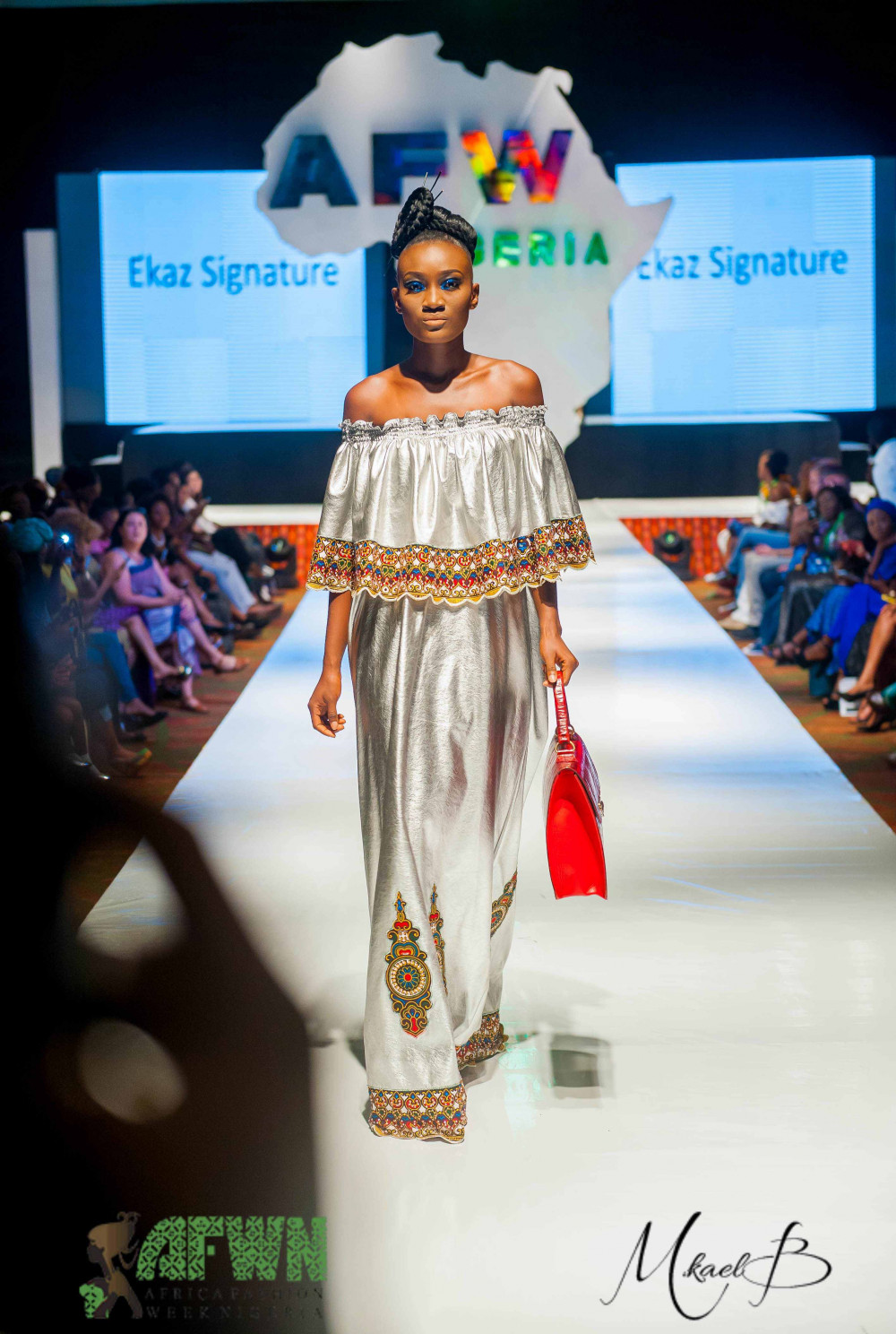 2016 Africa Fashion Week Nigeria: Ekaz Signatures