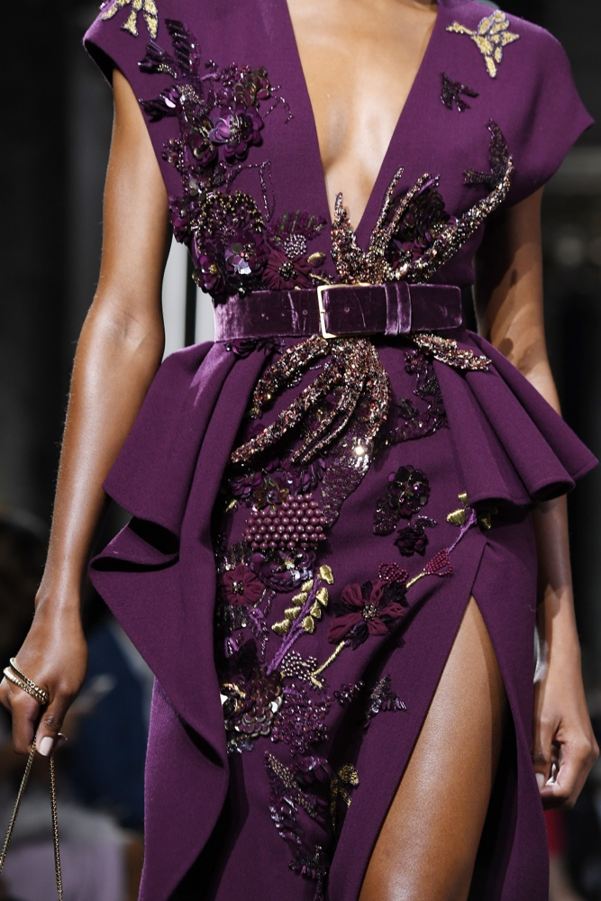 Elie saab at paris fashion week haute couture fall for Couture garments