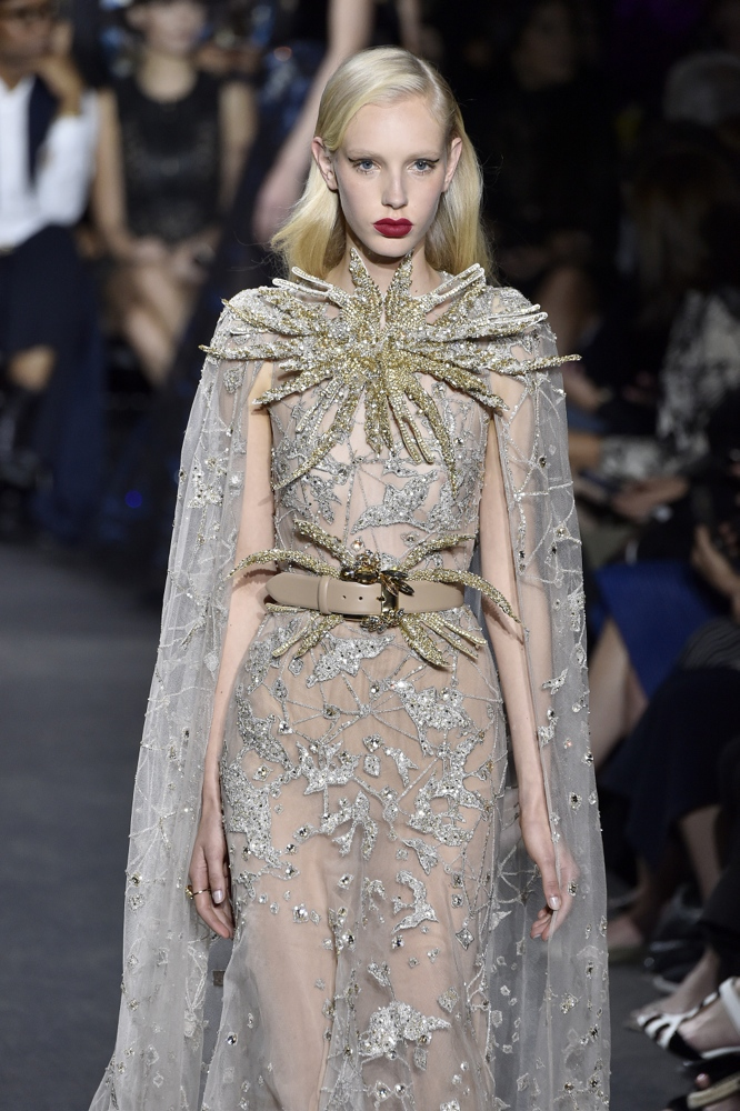Bn bridal elie saab at paris fashion week haute couture for Couture france