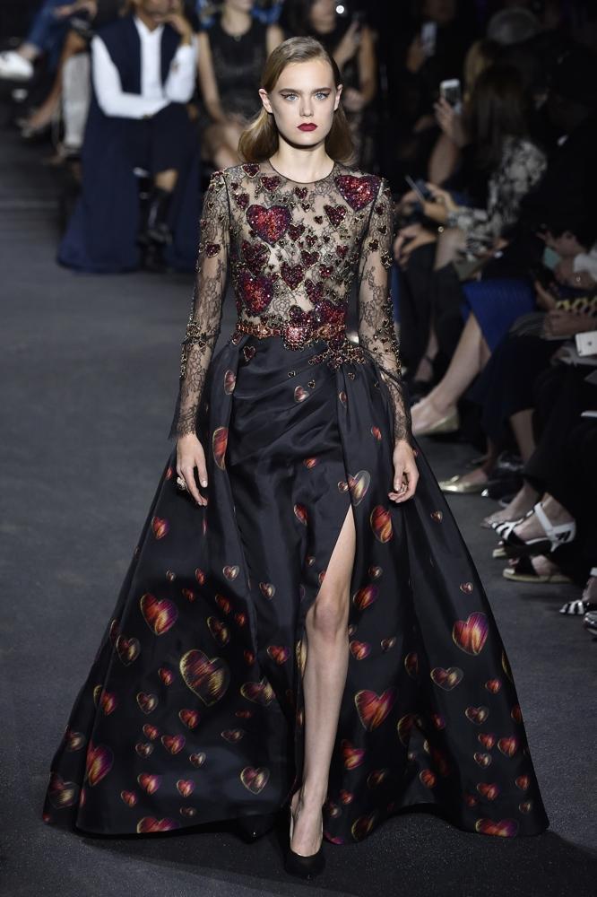 Elie Saab At Paris Fashion Week Haute Couture Fall