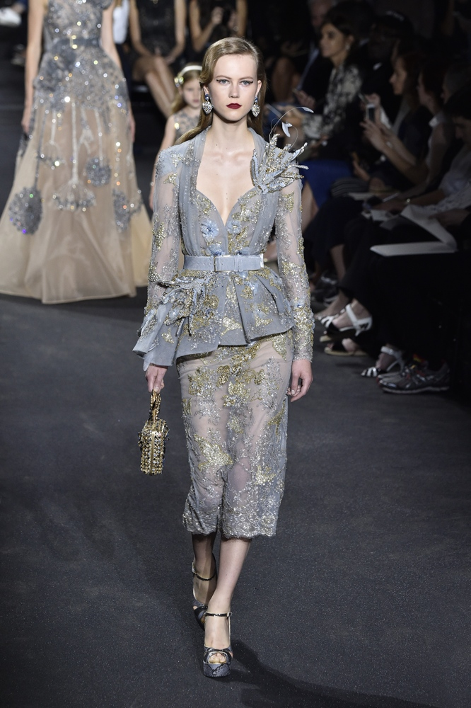 Elie saab at paris fashion week haute couture fall for Haute couture show