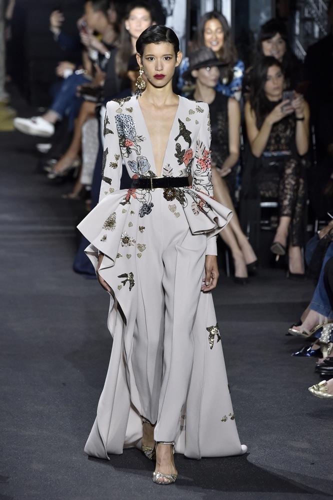 elie saab fall haute couture fashion week paris winter shows