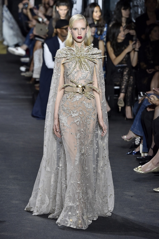 Bn bridal elie saab at paris fashion week haute couture for Haute couture fashion