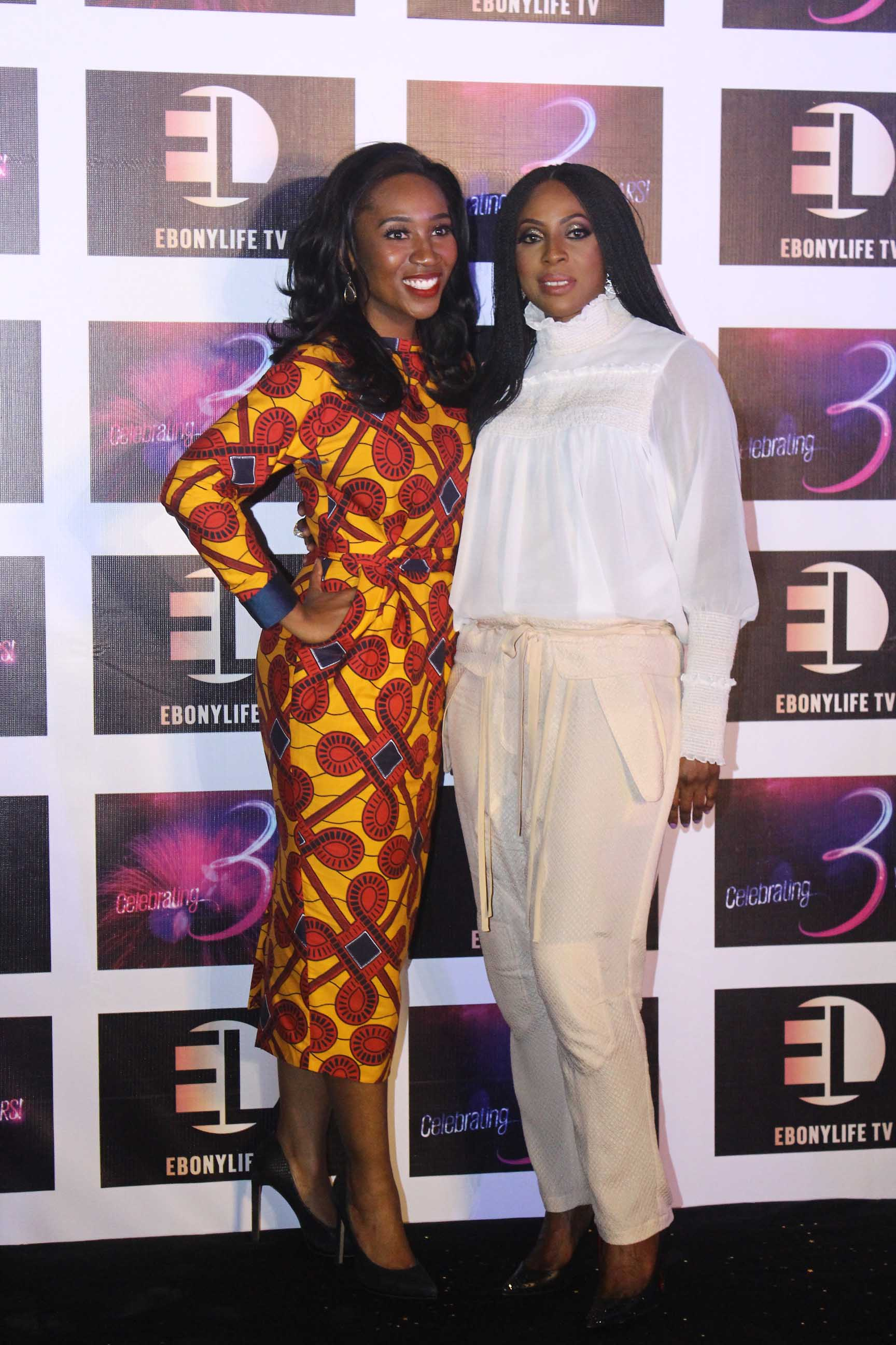 Eunice Omole and Mo Abudu